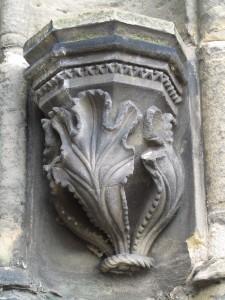 Akantus-aihe Rosslynin kappelissa