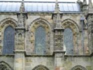 Rosslynin kappelin rakenteita