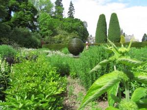 Slate Garden, Cawdor Castle Gardens: yleisnäkymä