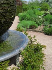 Slate Garden, Cawdor Castle Gardens: yksityiskohta
