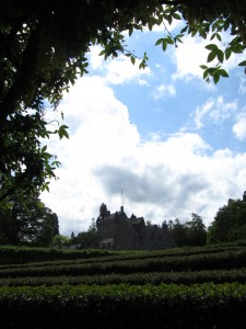 The Maze, Walled Garden, Cawdor Castle Gardens