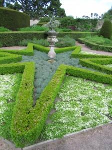 Walled Garden, Cawdor Castle Gardens: parterre