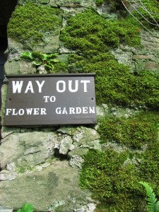 Way Out of the Wild Garden, Cawdor Castle Gardens