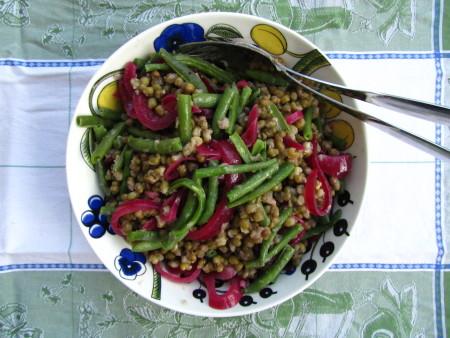 Kahden pavun salaatti