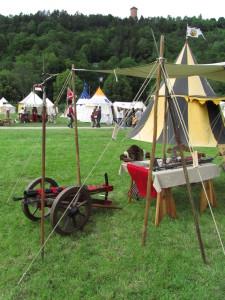 Keskiaikaharrastajien leiri
