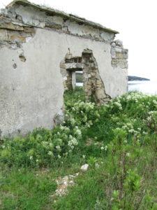 Suolatyöläisten asunnot rapistuvat vanhalla suolakentällä