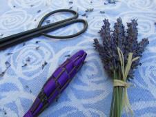 Kesäistä askartelua laventelista