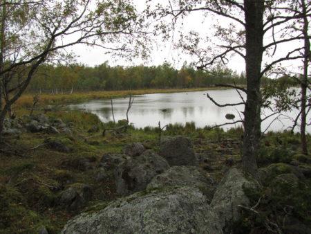 Kuvassa on Merenkurkun saariston kivikkoista rantaa