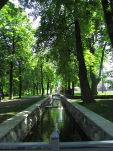 Uusi kanava Kadriorgin puistossa