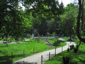 Japanilaisvaikutteinen puutarha Kadriorgissa