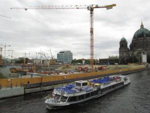 Humboltforum / Berliner Schloss -työmaa Berlin-Mitte