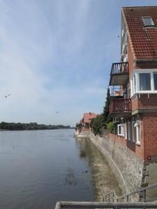 Elben rantaa Lauenburgissa